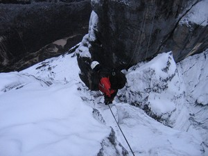 Carstensz climbing – Normal route