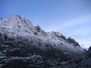 Carstensz Pyramid – wall