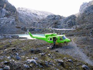 Carstensz Pyramid – Helicopter in BC